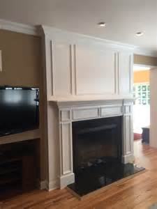 Ideas For Painting Wainscoting Mantels Fireplace Mantels Crown Molding Nj Original