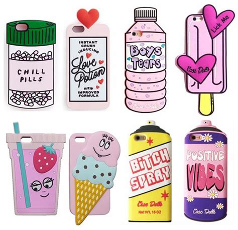 fashion enchanted cute bottle ice cream  silicone case  iphone xs max xr