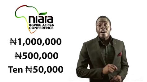 Niara Maxy niara inspire africa conference