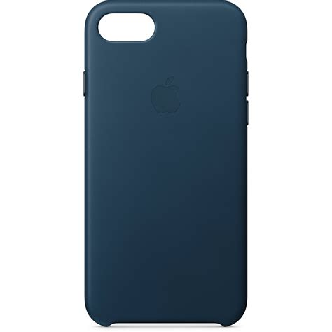 apple iphone 8 7 leather cosmos blue mqhf2zm a b h photo