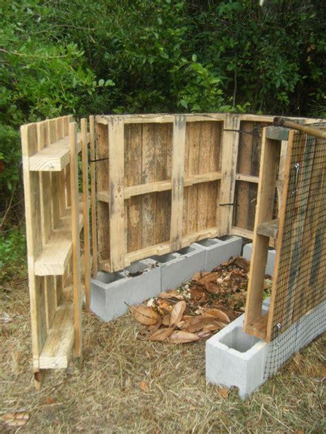 making  wood pallet compost bin thriftyfun