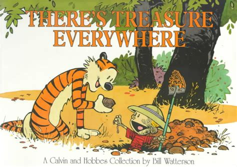 why comics from underground to everywhere books book excerptise there s treasure everywhere a calvin and