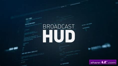 Videohive Broadcast Hud After Effects Templates 187 Free After Effects Templates After Effects Hud After Effects Template