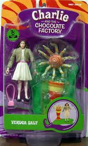 veruca salt charlie and the chocolate factory action figure