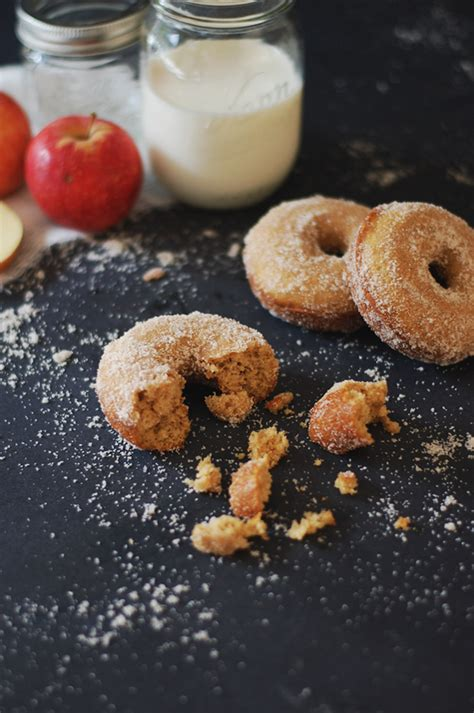 baked apple cider donut recipe in honor of design