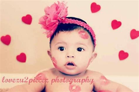 valentines day with baby baby valentines day pose picture ideas