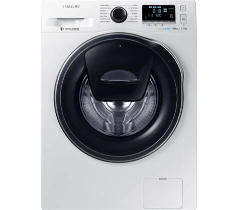 buy samsung addwash ww90k6610qw washing machine white free delivery currys
