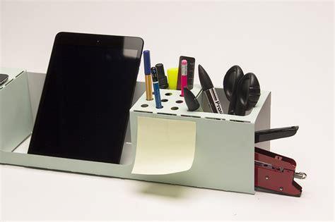 Designer Desk Organizer Org A Folded Durable Lightweight Laser Cut Desk Organizer
