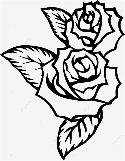 Black Rose Moldura De Imagem Png , Preto, Rosa, Moldura