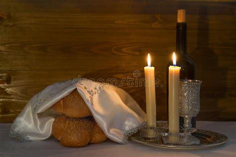shabbat candle lighting time denver colorado shabbat shalom wine challah and candles stock photo image of kosher 65995662