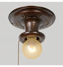 Pull chain light fixture light decorating ideas