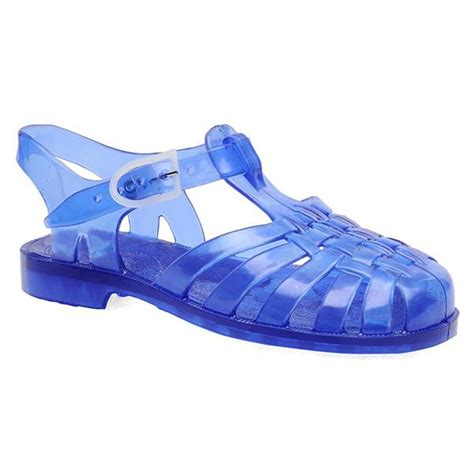Sale Sendal Drkevinsize 42 sarraizienne meduse sarraizienne waterschoen blauw doorzichtig volwassenen slipperwereld