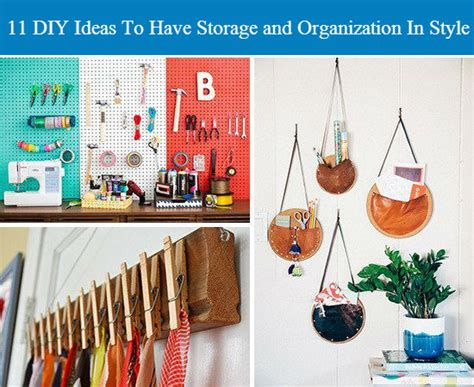 diy decorations with things around the house 11 diy ideas to storage and organization in style i