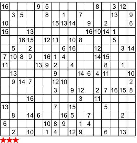 5 best photos of super sudoku 16x16 print monster sudoku super sudoku