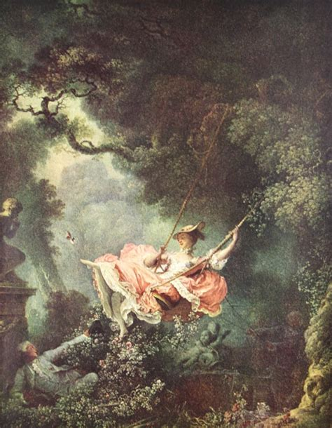 the swing fragonard fragonard the swing by fragonard painting by apaperreverie