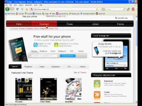themes your mobile how to download free ringtones themes and games for your