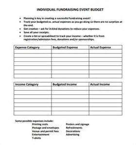 event planning budget template sle event budget 8 documents in pdf word excel