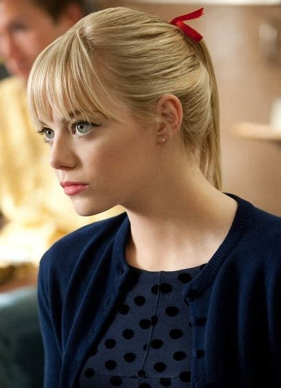 emma stone gwen stacy emma stone as gwen stacy inspired by books movies tv