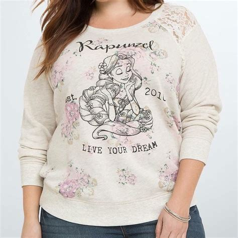 Sweater Disnep Tangled rapunzel floral sweater from torrid all things disney floral sweaters and rapunzel