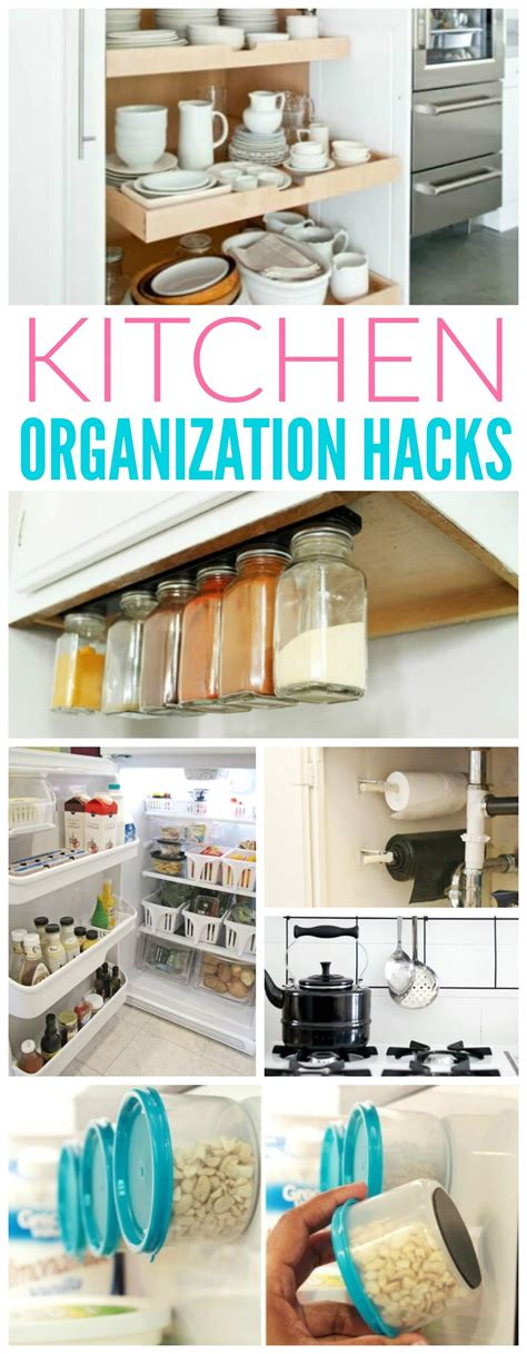 organize hacks kitchen organization hacks