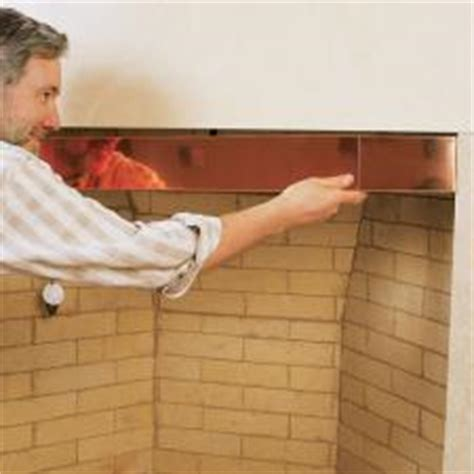 fireplace smoke guard 4 quot copper