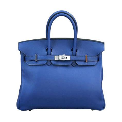 Birkin Ghillies 25 Cm Handbags 6813 1 hermes birkin sapphire blue 25 for sale at 1stdibs