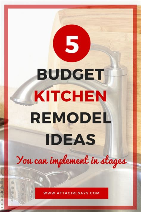 Kitchen Faucet Ideas Kitchen Remodel Ideas On A Budget