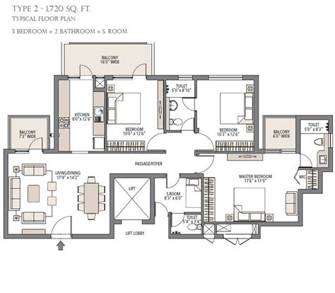 residential floor plan specifications palm garden gurgaon emaar mgf gurgaon