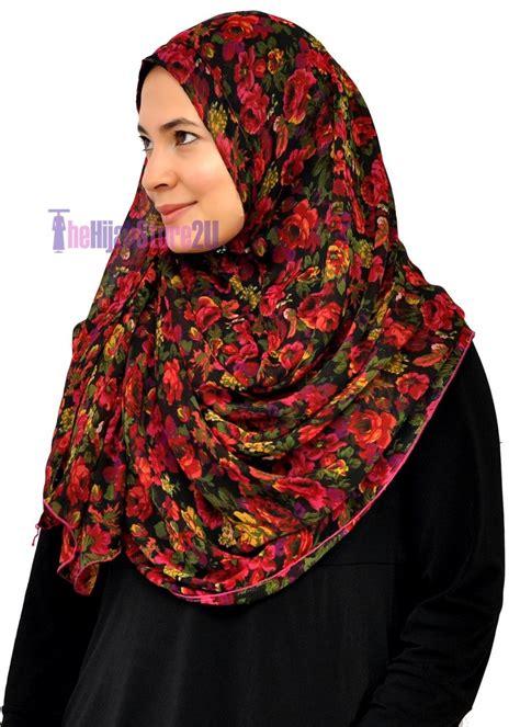 Pashmina Instant Sapphire 3 instant shawl thehijabstore2u tudung