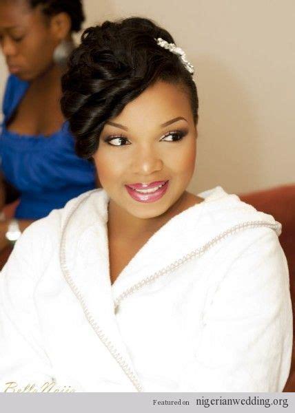 nigerian wedding hairstyles african american black bride wedding hair natural