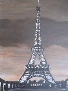 paint with a twist eiffel tower paintings ideas for adults on canvas paintings
