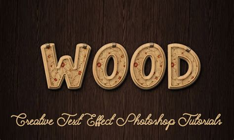 tutorial photoshop word text effects in photoshop tutorials images