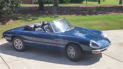for sale 1969 alfa romeo spider atlanta alfa romeo