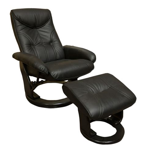 benchmaster swivel recliner chair ottoman set benchmaster euro recliners ventura leather swivel