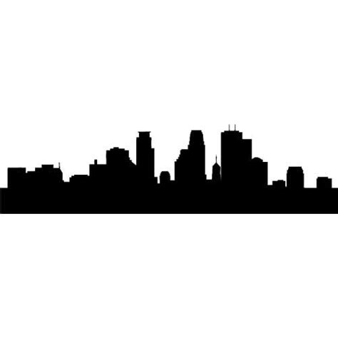 new york skyline silhouette outline clipart best