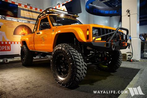 2017 sema jcr offroad jeep truck new autos post