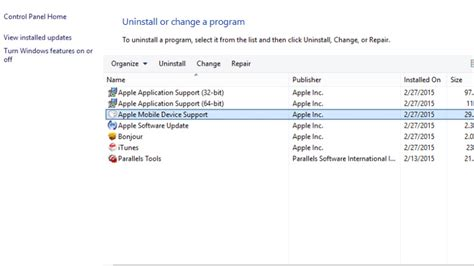 apple mobile device support installer what to do when itunes can t see or recognise an iphone
