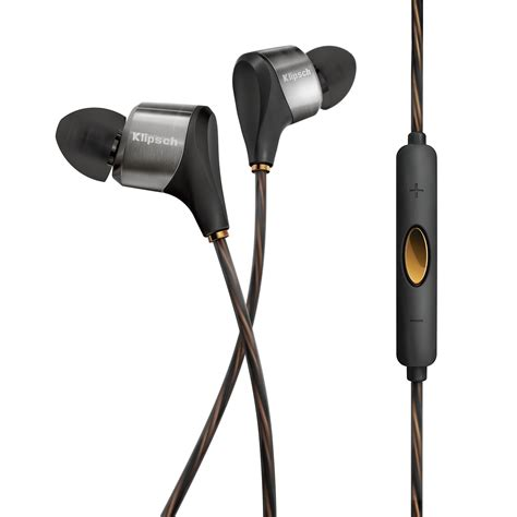 Hybrid Headphone In Ear Original klipsch xr8i hybrid in ear headphones black 1062168 b h photo