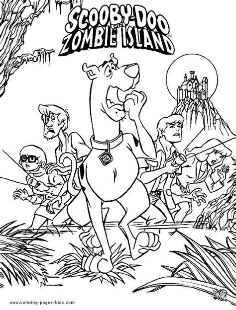 scooby doo coloring pages for halloween scooby doo coloring pages free scooby doo color page