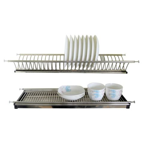 dish rack with draining plate stainless steel dish rack