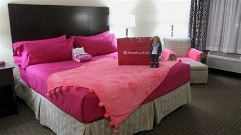 girls bedroom package american girl doll hotel room package tour details youtube