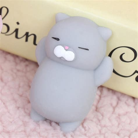 squishy cat new arrived squishy cat soft silicone animal squishy