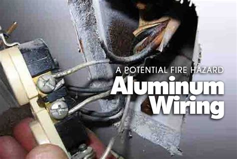 when was aluminum wiring used in houses aluminum wiring fire hazards home inspection alabama
