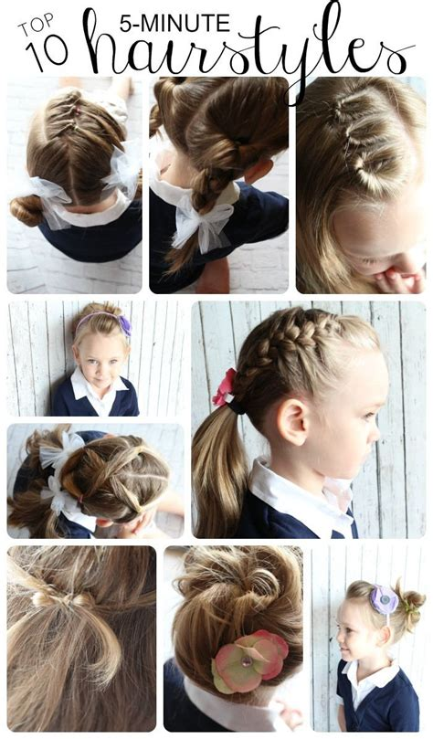step by step hairstyles easy for kids best 25 easy hairstyles for kids ideas on pinterest