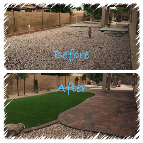 yard remodel archives arizona living landscape design