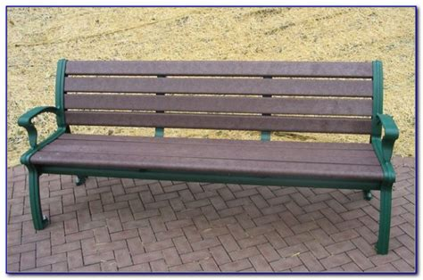 recycled plastic memorial benches recycled plastic benches for schools bench home design