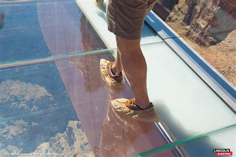 Glass Floor Grand by Grand Skywalk Lincoln Electric