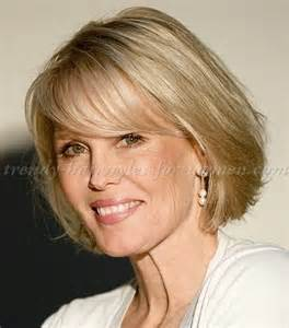 easy hair cut for active 50 year short hairstyles over 50 bob haircut with fringe