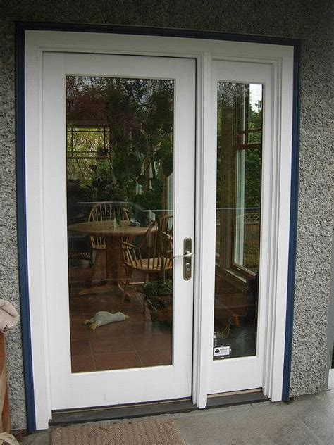 Single Patio Doors 16 Best Images About Single Doors With Sidelights On Stains Fiberglass Entry