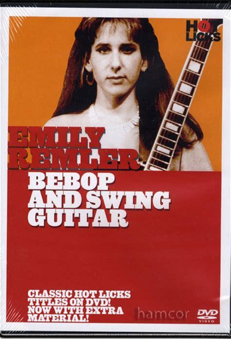 Emily Remler Bebop And Swing Guitar Tuition Dvd Ebay